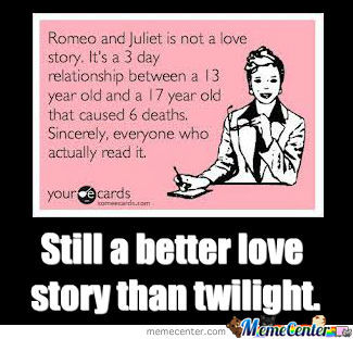 Twilight vs romeo and juliet