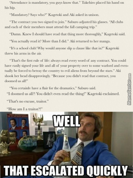 Ron Burgundy Is The Patron Saint Of This Series