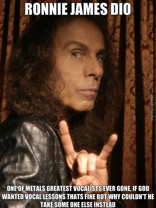 Ronnie James Dio We Miss You :(