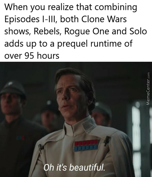 Rougue One Is Technically A Prequel Since It Still Comes Before A New Hope