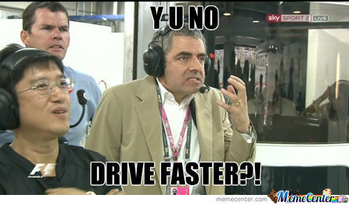 Rowan Atkinson As The Y U No-Guy
