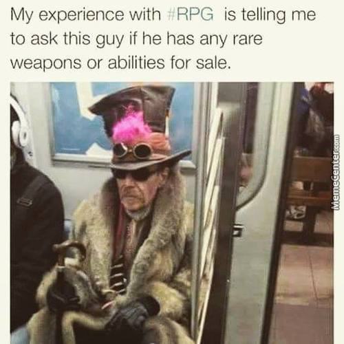 Rpg Experience