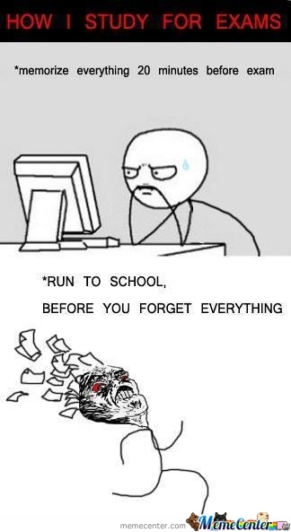 Run Before You Forget Everything!!!!
