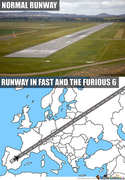 Runway In Fast And The Furious 6