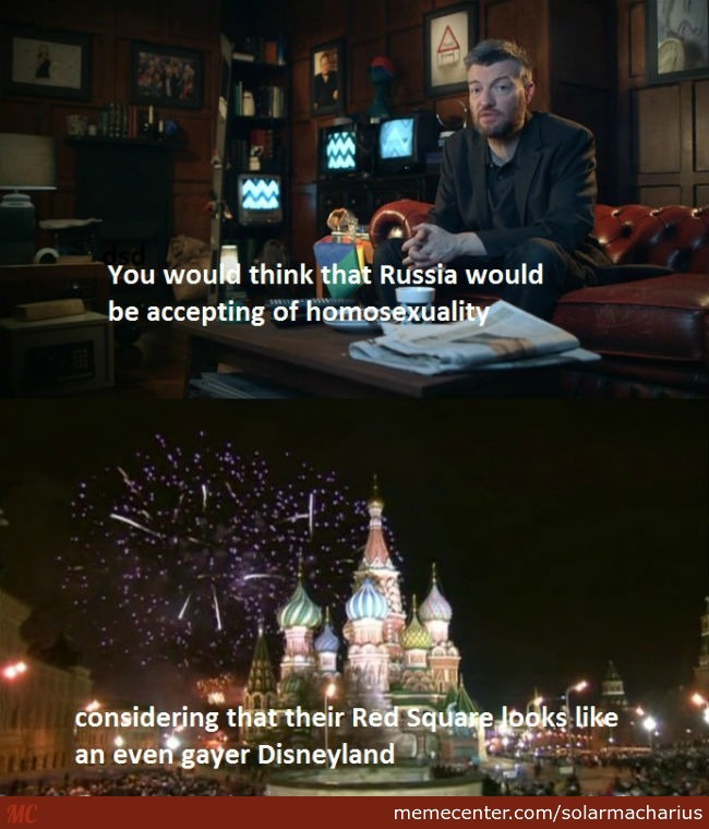 Russia And Homosexuality