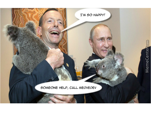 Russia Is Just A Koala Puppet State