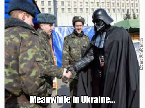 Russian Darth Vader Deployed To Combat Ukraine Forces
