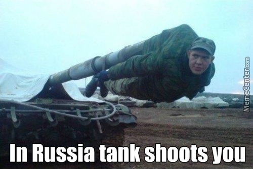 Russian Vodka-Filled Missile
