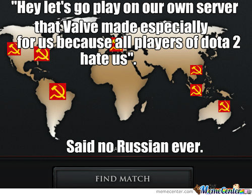 Russians In Dota 2