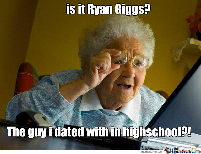Ryan Giggs Is Old