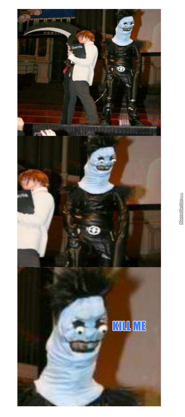 Ryuk Cosplay Still Better Than What I Could Make By