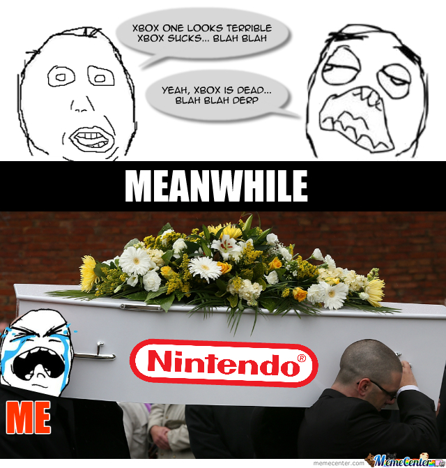 Sad To Say, Nintendo Is Dying