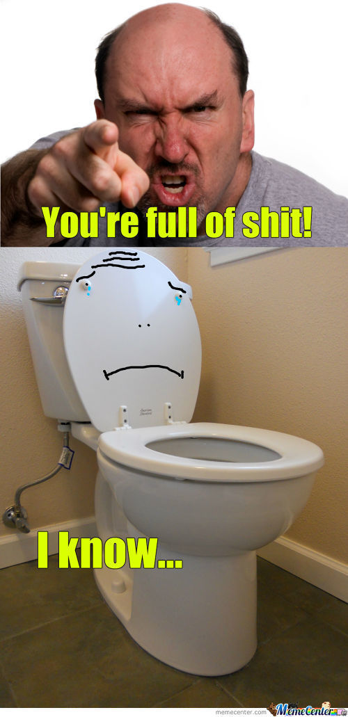 Sad Toilet Is Sad...