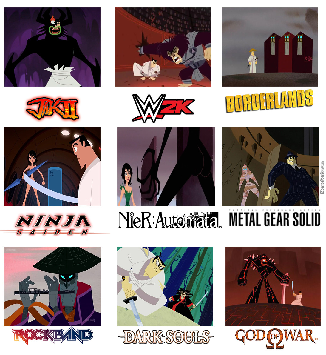 Samurai Jack Memes Are Still A Thing To Me