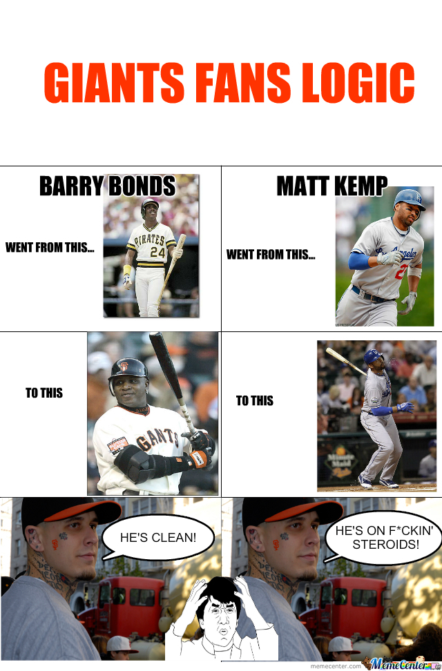 San Francisco Giants Fan's Logic