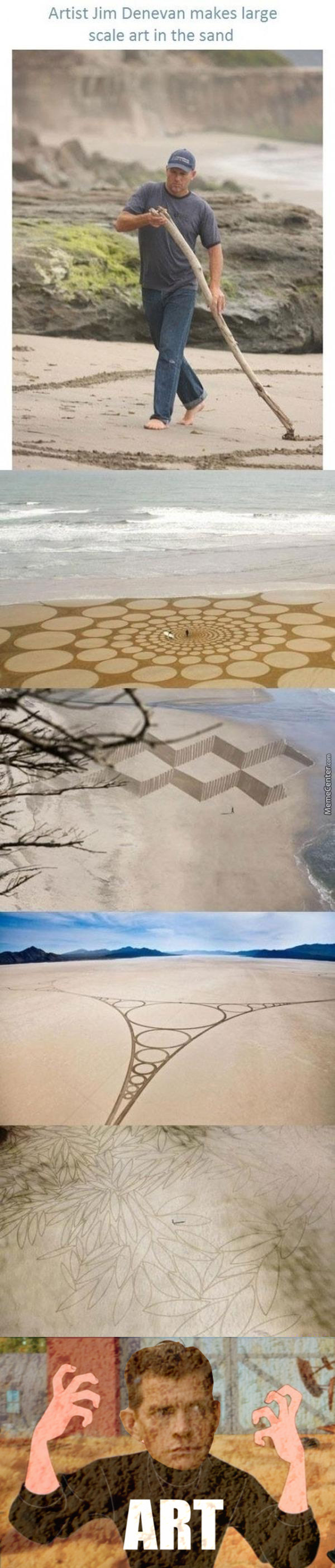 Sand Art For The Win