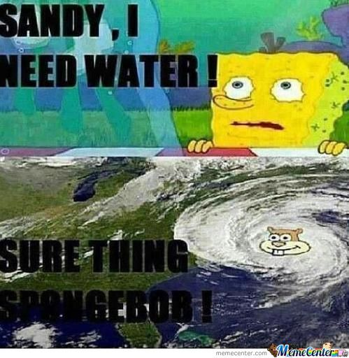 Sandy Is A Giver...