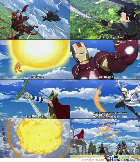 Sao, Something, Iron Man, One Piece & Gintama