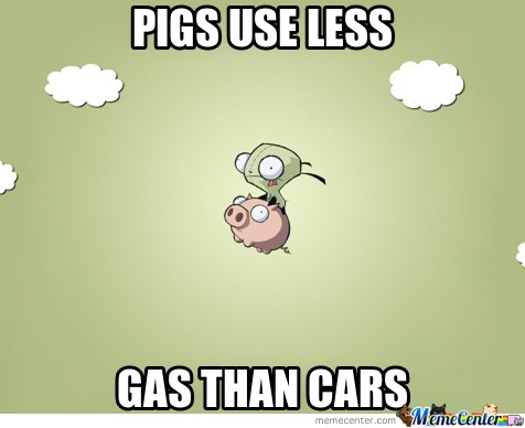Save The Planet, Ride A Pig