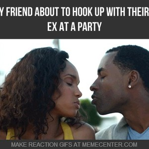hook up with best friends ex