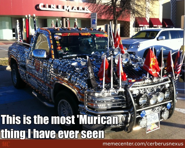 Saw This At The Cinema............ 'murica!!!!!