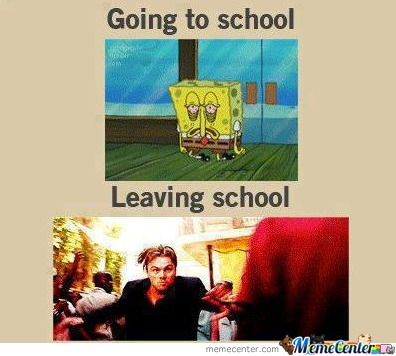 School Spongebob