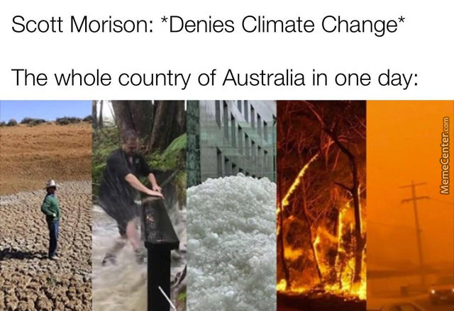 Scott Morrison Is The Prime Minister Of Australia If You Didn'T Know.