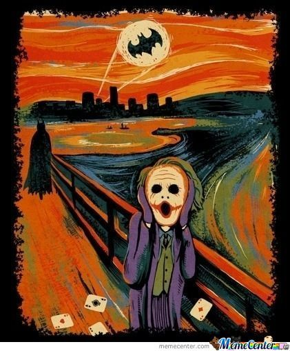 Scream....oh Noo Batman!!