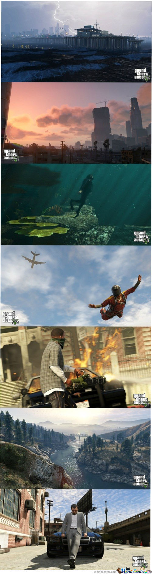 Screen Shots From Gta V