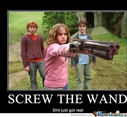 Screw The Wand