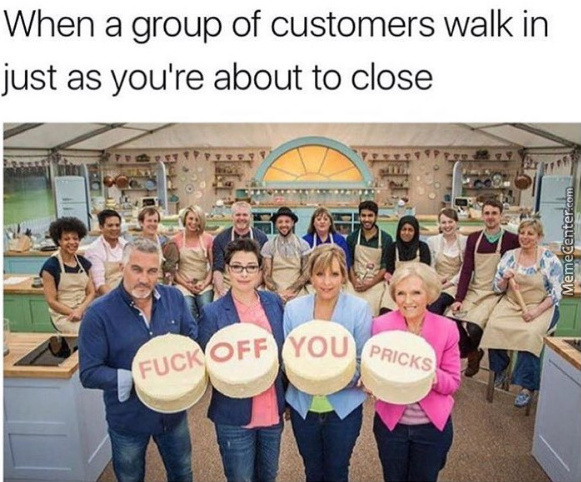 Screw The Whole Customer Is King Stuff