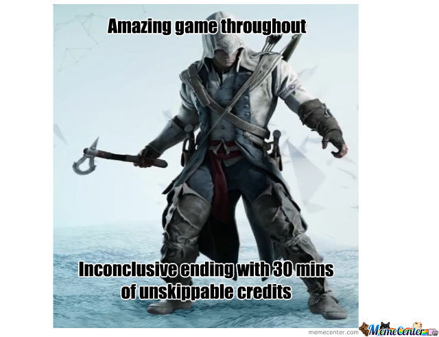 Scumbag Assassin S Creed 3 By Asmooth Meme Center