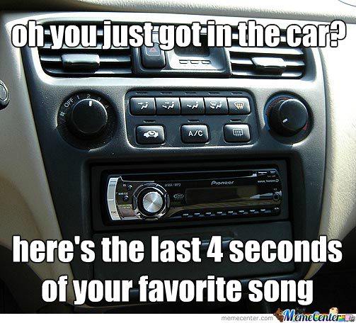 Scumbag Car Radio