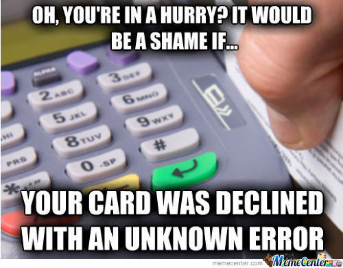 Scumbag Credit Card Reader