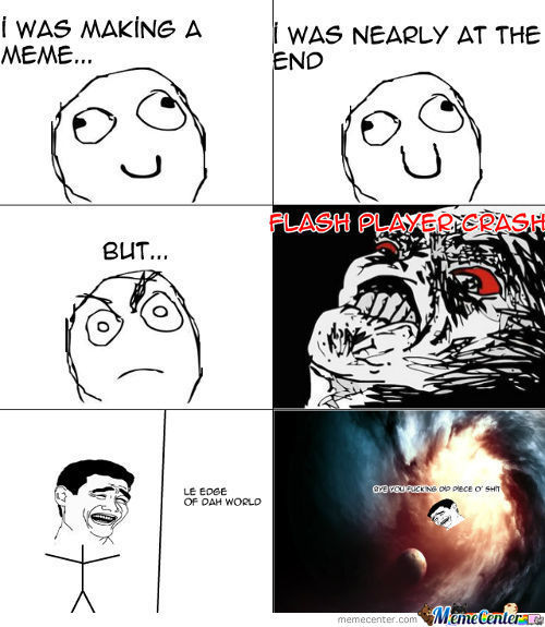 Scumbag Flash Player