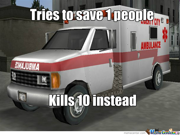 Scumbag Gta Ambulance