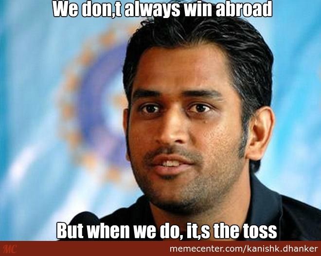 Hussey Comment On Indian Cricket Team Funny: Scumbag Indian Cricket Team Captain By Kanishk.dhanker