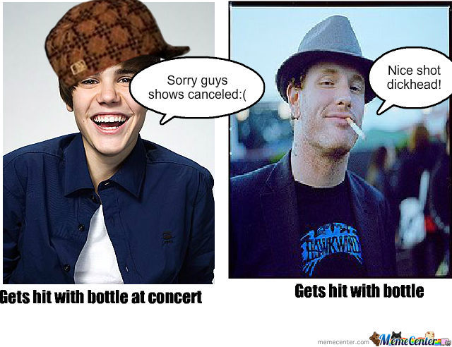 Scumbag Justin And Good Guy Corey