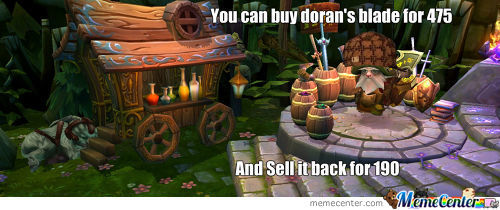Scumbag Lol Shopkeeper