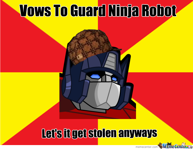 Scumbag Optimus Is Back