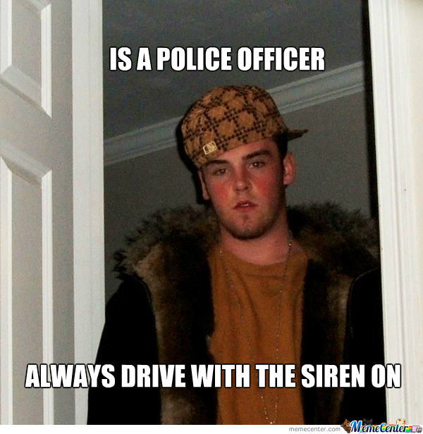 Scumbag Police Officer