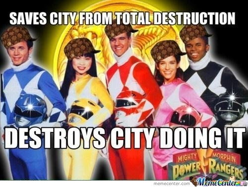 Scumbag Power Rangers