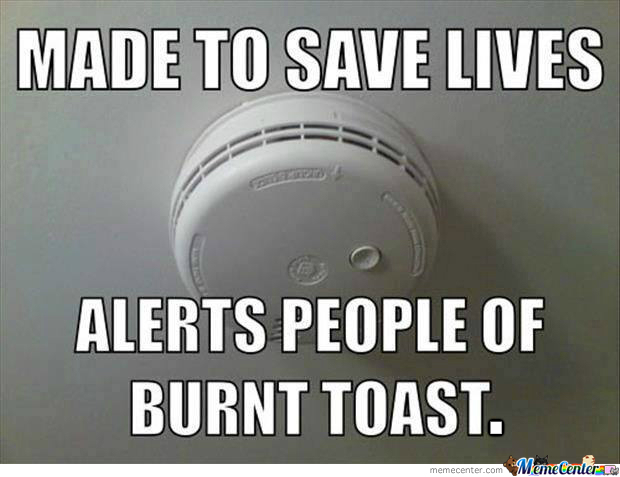 Scumbag Smoke Detector By Rawrninjas Meme Center