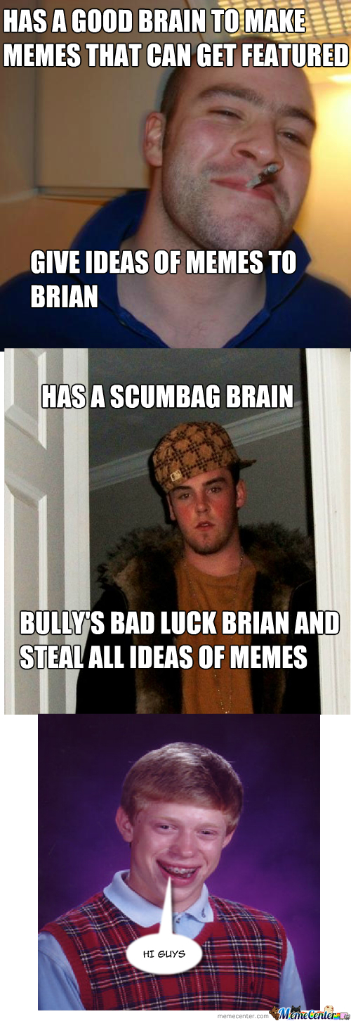 Scumbag Strikes Again
