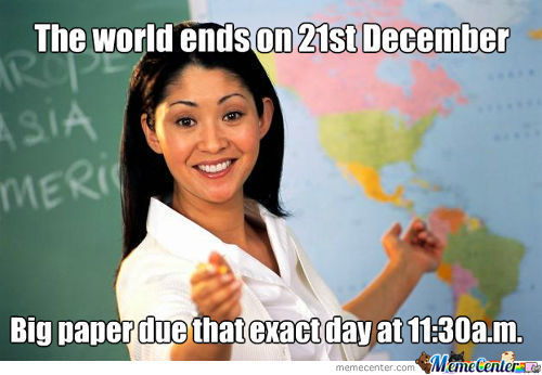 Scumbag Teacher...