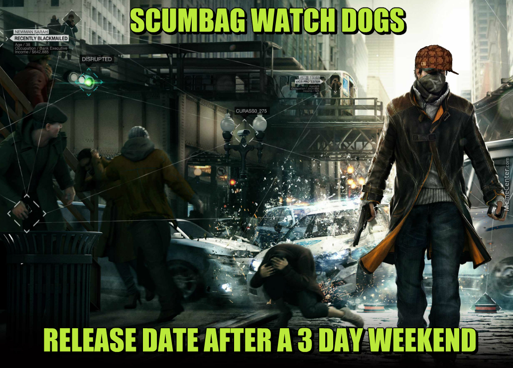 Watch Dogs  Choose A Character