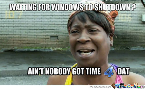 Scumbag Windows .