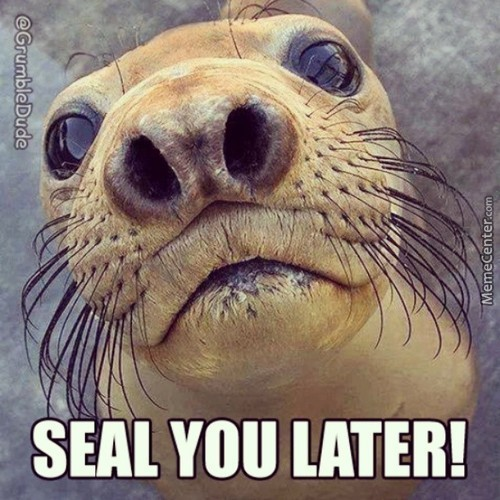 Seal You Later!