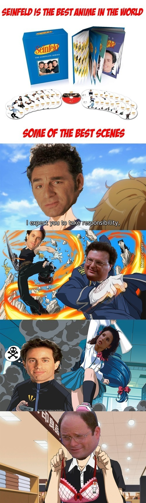 Seinfeld Is The Best Anime In The World