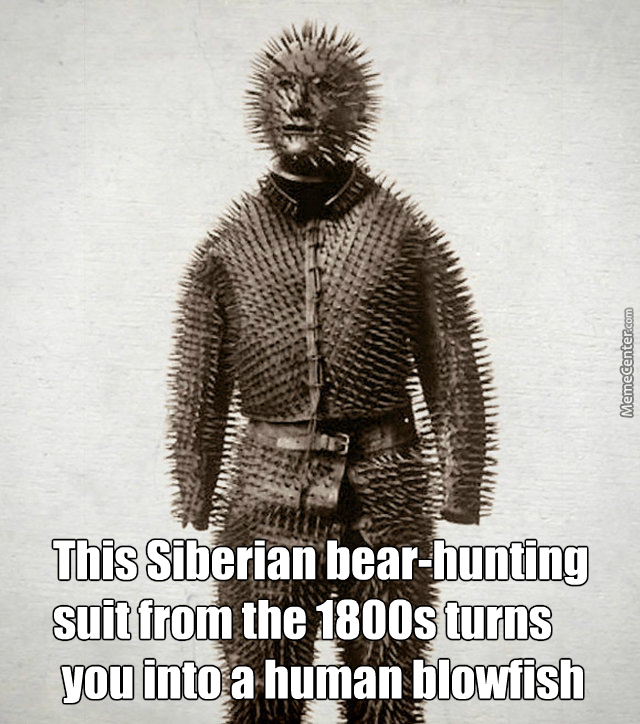 Serbian Bear,Hunting Armor by watermelonhero , Meme Center